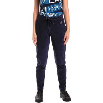 Textil Mulher Calças de treino Emporio Armani EA7 6ZTP87 TJN9Z Azul