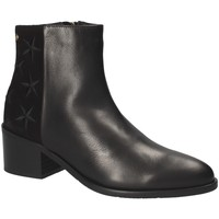 Sapatos Mulher Botins Tommy Hilfiger FW0FW03589 Preto