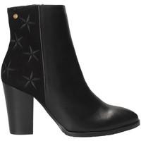 Sapatos Mulher Botins Tommy Hilfiger FW0FW03590 Preto