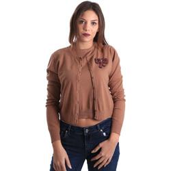 Textil Mulher Casacos de malha Denny Rose 821DD50100 Bege