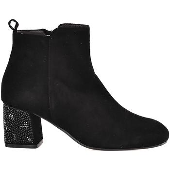 Sapatos Mulher Botins Melluso Z801E Preto