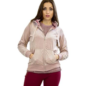 Textil Mulher Sweats Key Up 5CS57 0001 Rosa