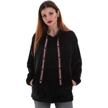 Textil Mulher Sweats Key Up 5CS91 0001 Preto