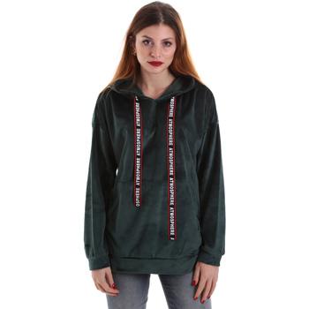 Textil Mulher Sweats Key Up 5CS91 0001 Verde