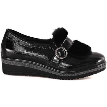 Sapatos Mulher Mocassins Grunland SC3148 Preto