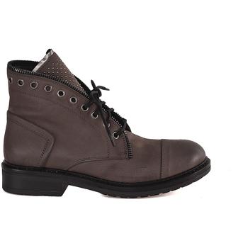 Sapatos Mulher Botas baixas Mally 5037 Castanho