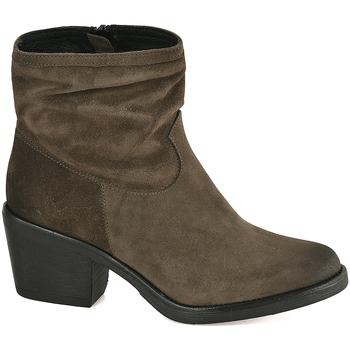 Sapatos Mulher Botins Mally 5341 Verde