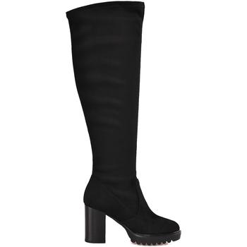 Sapatos Mulher Botas Mally 6389 Preto