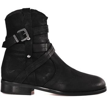 Sapatos Mulher Botins Mally 6431 Preto