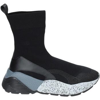 Sapatos Mulher Sapatilhas de cano-alto Studio Italia STAR 04 Preto