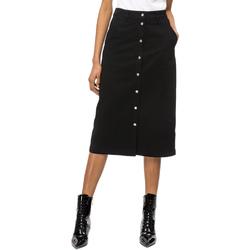 Textil Mulher Saias Calvin Klein Jeans J20J208502 Preto