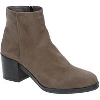 Sapatos Mulher Botins Grace Shoes 1826 Castanho
