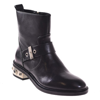 Sapatos Mulher Botins Elvio Zanon I8405P Preto
