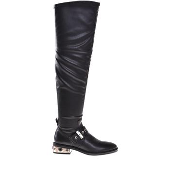 Sapatos Mulher Botas Elvio Zanon I8406P Preto