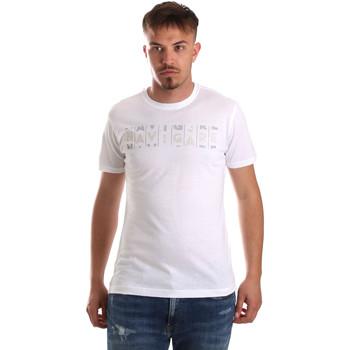 Textil Homem T-Shirt mangas curtas Navigare NV31081 Branco