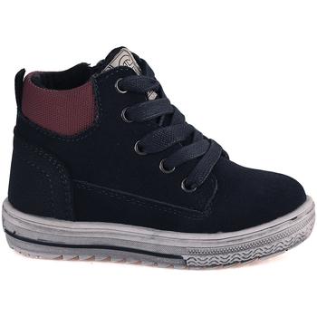 Sapatos Criança Sapatilhas de cano-alto Grunland PP0352 Azul