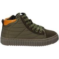 Sapatos Criança Sapatilhas de cano-alto Grunland PO1079 Verde