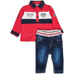 Textil Rapaz Conjunto Losan 827-8032AC Vermelho