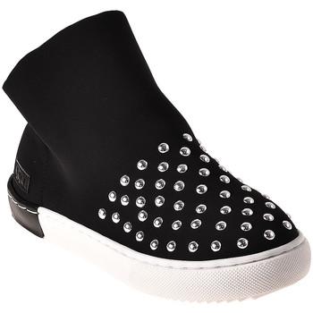 Sapatos Criança Sapatilhas de cano-alto Joli JS0019T0039J Preto
