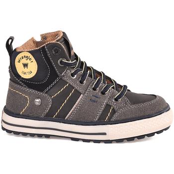 Sapatos Criança Sapatilhas de cano-alto Wrangler WJ18213 Preto