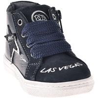 Sapatos Criança Sapatilhas de cano-alto Melania ME1041B8I.B Azul