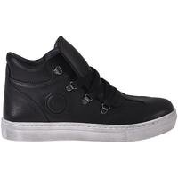 Sapatos Criança Sapatilhas de cano-alto Melania ME6406F8I.A Preto