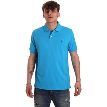 Textil Homem Polos mangas curta U.S Polo Assn. 55957 41029 Azul