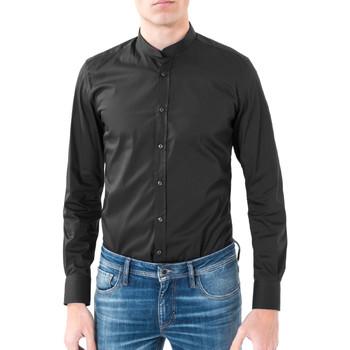 Textil Homem Camisas mangas comprida Antony Morato MMSL00376 FA450001 Preto