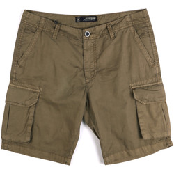 Textil Homem Shorts / Bermudas Key Up 2P16A 0001 Verde