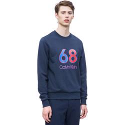 Textil Homem Sweats Calvin Klein Jeans K10K102981 Azul