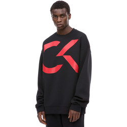 Textil Homem Sweats Calvin Klein Jeans 00GMH8W329 Preto