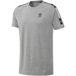 Textil Homem T-Shirt mangas curtas Reebok Sport DT8146 Cinzento