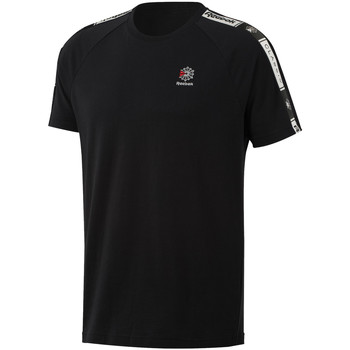 Textil Homem T-Shirt mangas curtas Reebok Sport DT8147 Preto