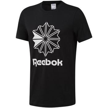 Textil Homem T-Shirt mangas curtas Reebok Sport DT8171 Preto