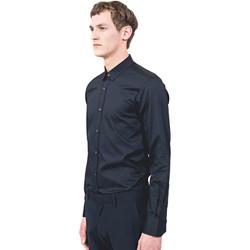 Textil Homem Camisas mangas comprida Antony Morato MMSL00525 FA440012 Azul