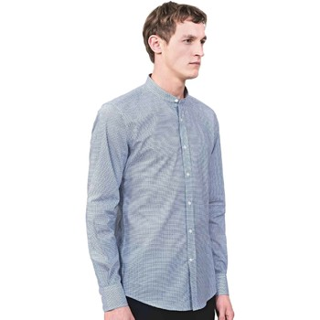 Textil Homem Camisas mangas comprida Antony Morato MMSL00526 FA430360 Azul