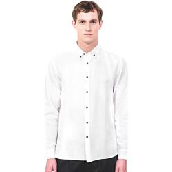 Textil Homem Camisas mangas comprida Antony Morato MMSL00530 FA400051 Bege