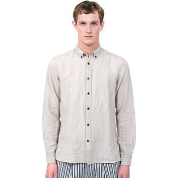 Textil Homem Camisas mangas comprida Antony Morato MMSL00530 FA400051 Cinzento