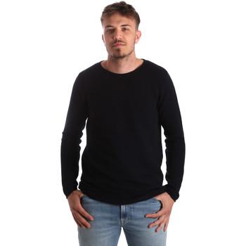 Textil Homem camisolas Antony Morato MMSW00938 YA100018 Azul