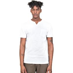 Textil Homem T-Shirt mangas curtas Antony Morato MMKS01487 FA100139 Branco