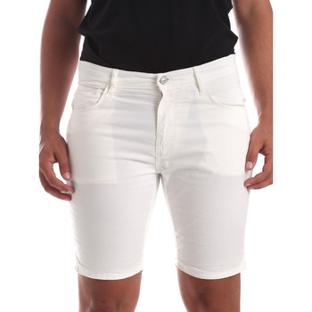 Textil Homem Shorts / Bermudas Antony Morato MMSH00140 FA800109 Branco