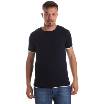 Textil Homem T-Shirt mangas curtas Gaudi 911FU53007 Azul