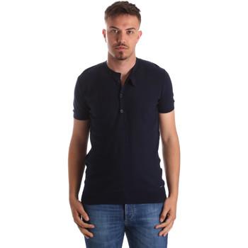 Textil Homem T-Shirt mangas curtas Gaudi 911FU53008 Azul