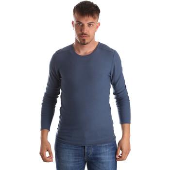Textil Homem camisolas Gaudi 911FU53013 Azul