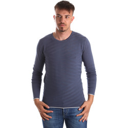 Textil Homem camisolas Gaudi 911FU53018 Azul