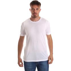Textil Homem T-Shirt mangas curtas Gaudi 911FU64005 Branco