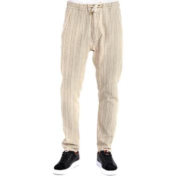 Textil Homem Calças Gaudi 911BU25031 Bege