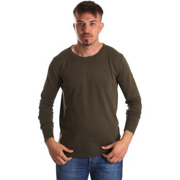 Textil Homem camisolas Gaudi 911BU53010 Verde