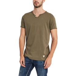 Textil Homem T-Shirt mangas curtas Gaudi 911BU64024 Verde