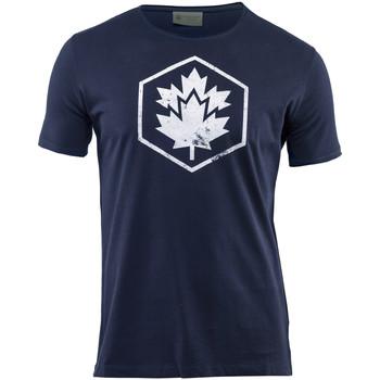 Textil Homem T-Shirt mangas curtas Lumberjack CM60343 002 509 Azul